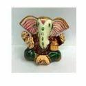 Meenakari Ear Ganesha Statue