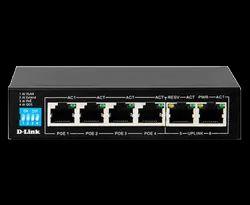 DLINK DES-F1006P-E  6-Port Unmanaged PoE Switch