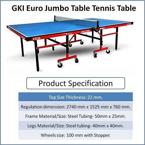 TABLE TENNIS EQUIPMENT U0026 ACCESSORIES   Stag 1000dx Table Tennis Table  Manufacturer From New Delhi