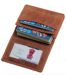 Rfid protected visiting card holder