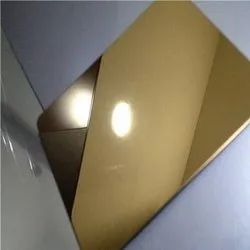 Rose Gold Stainless Steel Sheet