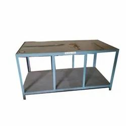 Mild Steel Rectangular Industrial Working Table