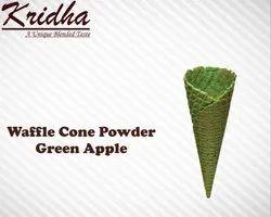 Kridha Green Apple Waffle Cone Premix Powder, Packaging Type: Packet