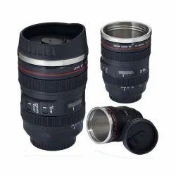 Camera Lens Shape Mug