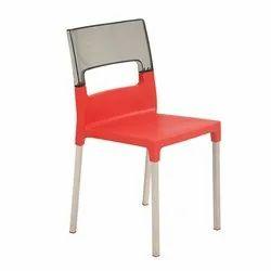 Modern Supreme Diva Red Black Living Room Chair, Back Style: Tight Back