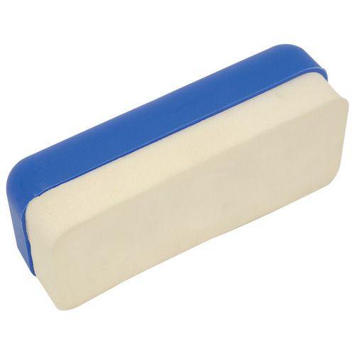 Plastic- Felt Blue White Board Duster