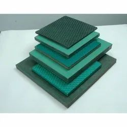 Green Industrial Rubber Machine Pad