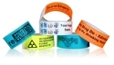 250 X 20 Mm One Time Use Wrist Bands