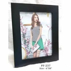 Black Wooden Frame 6-8