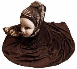 Hosiery 2 Way Stretchable Scarf Hijab For Women