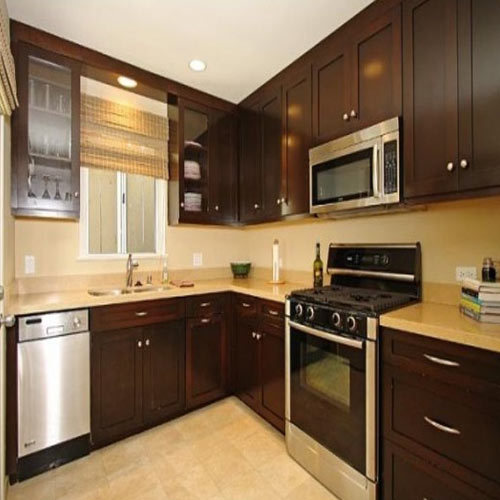Kitchen Cabinet, Kitchen Pantry Cabinet, रसोई की अल्मारी - DSN Interior & Carpenter Works, Chennai | ID: 15217540897