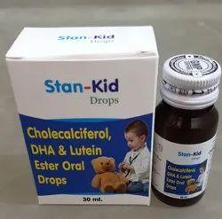 Dha Lutein & Cholecalciferol Drops