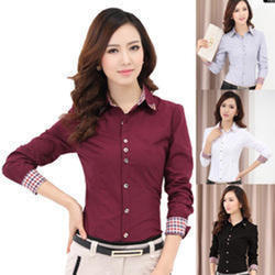 Ladies Formal Shirts - Women Formal Shirts Latest Price ... 5a871fb7a