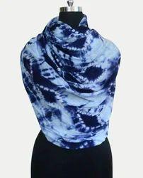 Tie Dye Cashmere Silk Scarf