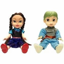 Plastic Non Toxic Prince And Princess Baby Dolls
