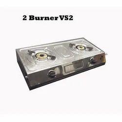 Lakshay Surya Master Flame Brass Burner Gas Stove vs2 Black, Model No.: Lvs205