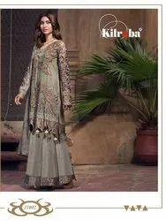 Kilruba Jannat Attraction Georgette Pakistani Pattern Suits Catalog
