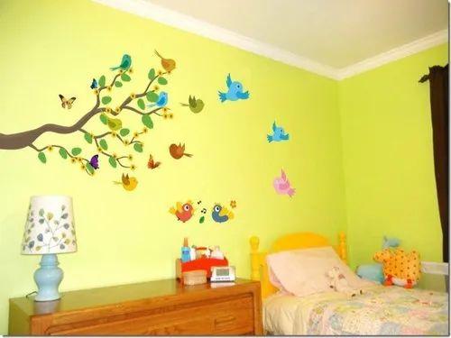 Home Decor Branch Butterflies Wall Sticker Wall Sticker For Bedroom Wall Art