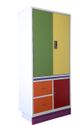 Colorful Residence Cupboard