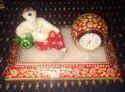 Resting Ganesha Marble Decorative Gift For Wedding