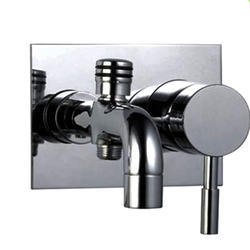 Single Lever High Flow Bath and Shower Mixer
