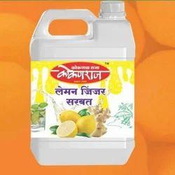 Kokanraj Lemon Ginger Juice, Pack Type: Can