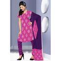 Designer Magenta Bandhej Suit