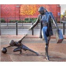 FRP Lady Sculpture