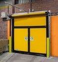 Toshi Yellow Pvc High Speed Doors