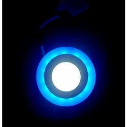 Aluminium Colored LED Light, 18W, Shape: Round