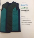 Green And Black Lead Apron Double Sided Cover, For Kitchen