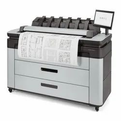 HP Designjet T3600 Production Multifunction Printer 36, Max. Print Speed: 2 A0 And 1 A1 Per Min, Capacity: A0 36