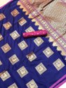 Banarasi Silk Saree With Fancy Blouse Piece