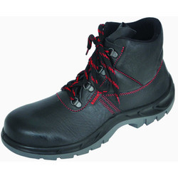 Karam CE High Ankle Safety Shoes, for Industrial, Sole Type: Black Pu Mid Sole