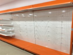 Supermarket Perforated Display Hanging Rack