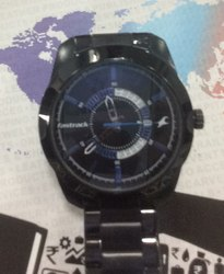 Black Fastrack Watch, S-11