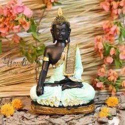 Polyresin Palm Buddha Statue