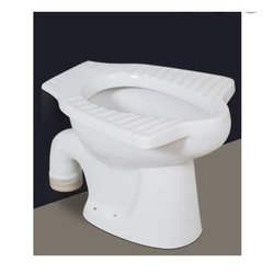 S Trap Open Front Anglo Indian EWC Toilet Seat