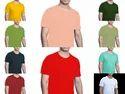 Plain Lycra Round Neck T Shirts