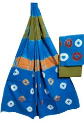 Bagru Shibori ( Bandhani) Suit Set