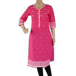 Cotton Ethnic Ladies Kurti