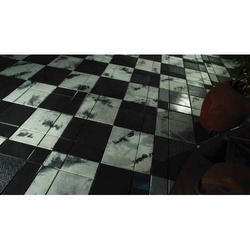 Anti Skid Chequered Paving Tiles