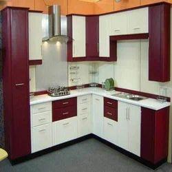 Residential PVC Modular Kitchen, Warranty: 5-10 Years