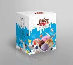 Juice Me Fresh Milk Ice Cream, Packaging Size: 4 Liter, Packaging Type: Box