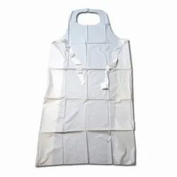Sleevless Polythene Medical Disposable Apron
