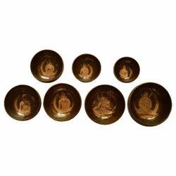 Buddha Design Bronze Handmade Singing Bowl