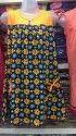 Printed Cotton Girls Designer Long Top