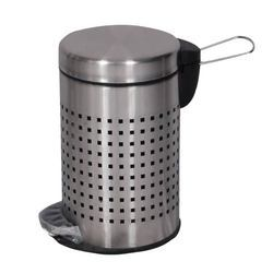 Perforated SS Pedal Dustbin