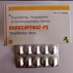 Aceclofenac , Paracetamol & Serratiopeptidase Tablets