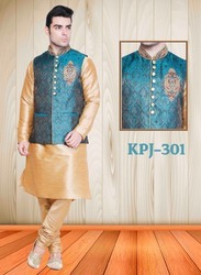 Indian Ethnic Kurta Pyjamas Jacket